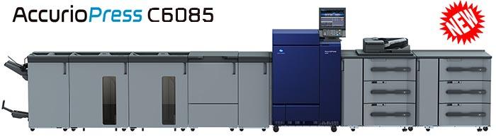 Máy in màu Konica Minolta C6085/C6100 | Máy in kỹ thuật số công suất lớn